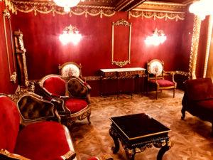 宮殿のような撮影エリア